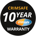 Crimsafe 10yr Warranty