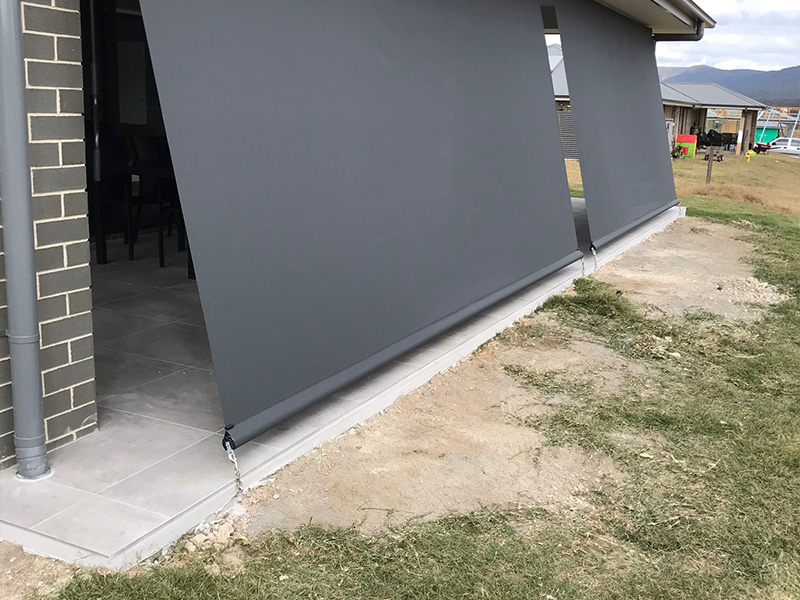 Geared Straight Drop Awnings
