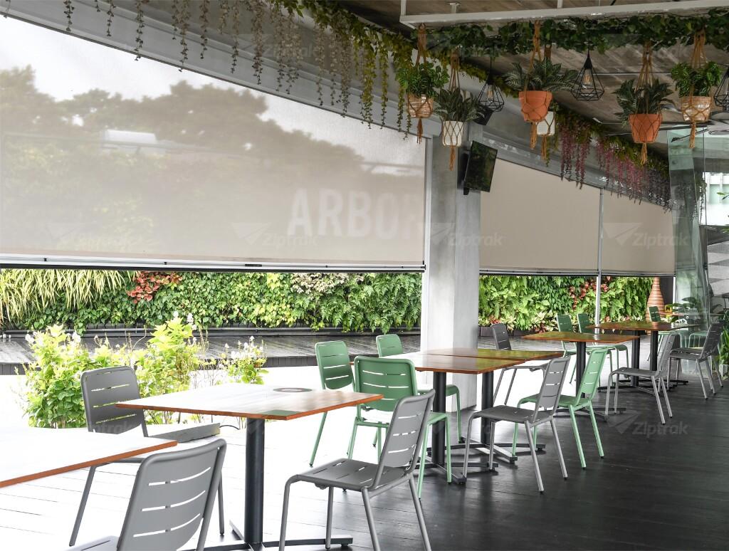 Outdoor ZipTrak Awnings on sale at zeee.com.au